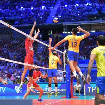 Чемпионат мира 2018. Полуфинал. Бразилия — Сербия